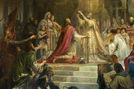 как карл первый стал императором
