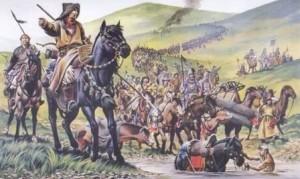 как воевали монголы