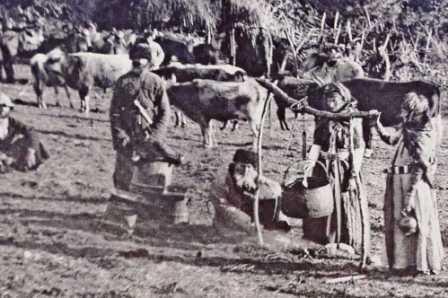 смотреть старые фото кавказских горцев