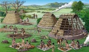 кто в древнейшие времена жил в японии