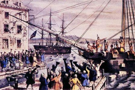 как началась война америки с англией