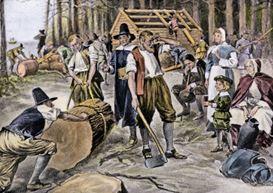 как жили английские колонисты в америке