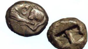 где появились первые деньги монеты