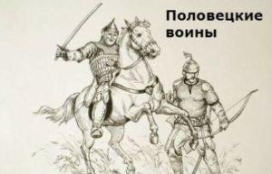 как вооружались половецкие воины