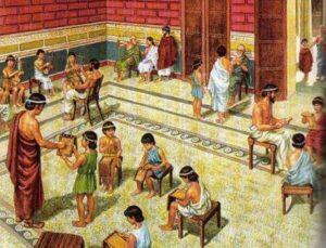 какое образование получали дети в древней греции