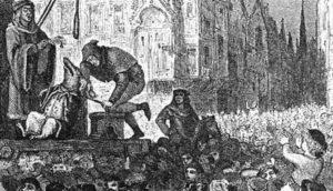 зачем в европе казнили свиней