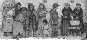 как в средневековье относились к нищим