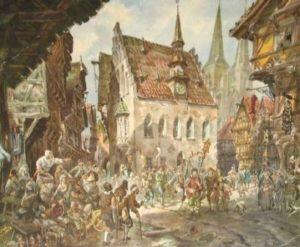 как выглядели европейские города в средневековье