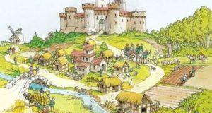 характерные черты средневековой европейской цивилизации