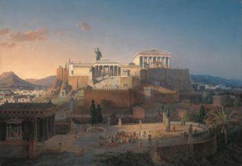 как выглядели древние афины