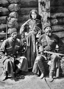 как одевались карачаевцы и балкарцы