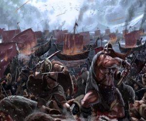викинги нападали на англию