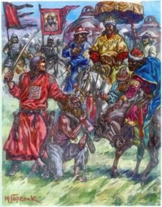 как казнили михаила тверского