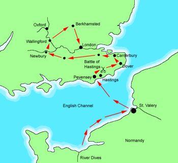 как норманны и вильгельм завоеватель завоевывали англию