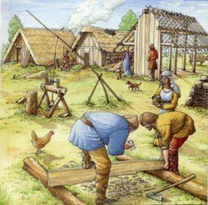 как помирились норманны и саксы англосаксы