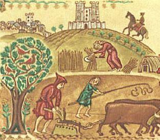 как жили в англии во время норманнского завоевания и господства