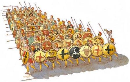 какими спартанцы были воинами