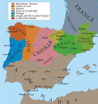 какими были испания и португалия в старину