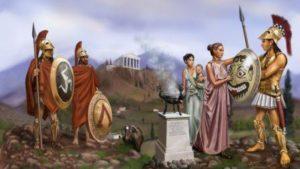 как было устроено общество в древней спарте