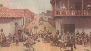 какие были первые испанские колонии в америке