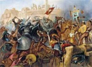 как испанцы покоряли индейцев