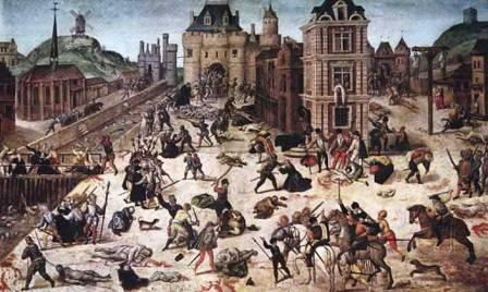 почему католики воевали с гугенотами