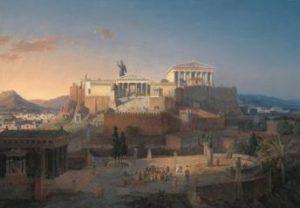 когда афины стали богатыми, сильными и красивыми