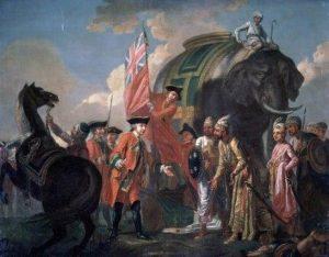 когда индия стала британской английской