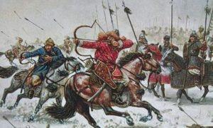 с кем воевала россия в древности
