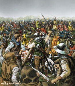 какие победы одерживали англичане в столетнюю войну