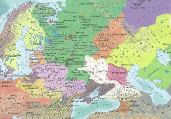 где были границы московского государства
