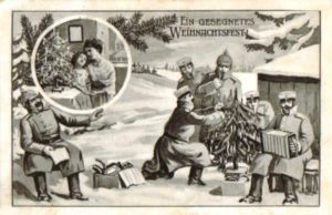как отмечали рождество в Первую мировую