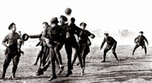 самый необычный футбольный матч