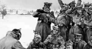 рождество 1914 в окопах