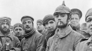 как проходило перемирие 1914