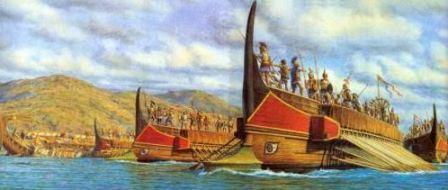 флот какого герческого полиса был самым сильным