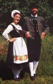как раньше одевались немцы