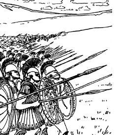 какие были основные события первой малой пелопоннесской войны