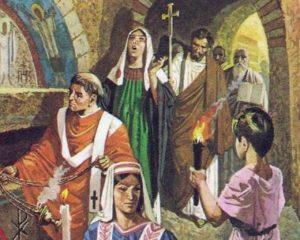 как развивалась церковь в общих чертах