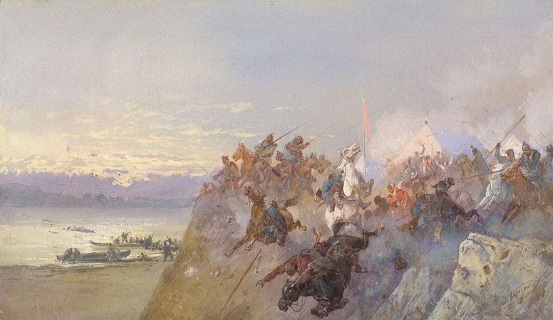 где было нанесено окончательное поражение хану кучуму
