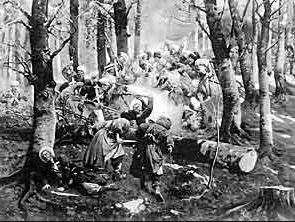 когда чеченцы наиболее успешно воевали с россией