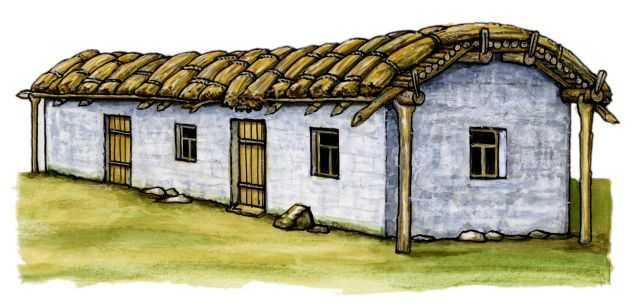 в каких домах жили чеченцы раньше