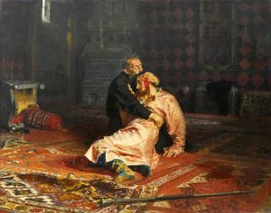 убил ли Иван Грозный сына