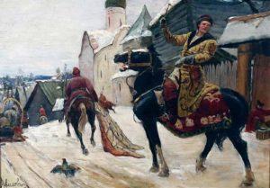 опричники громили Новгород