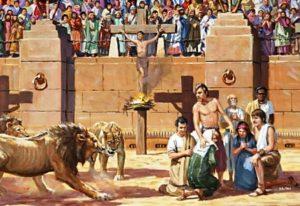 как преследовали христиан
