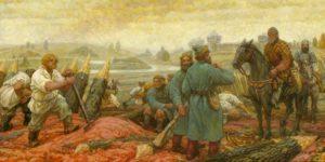 из за чего в семнадцатом веке была гражданская война в россии