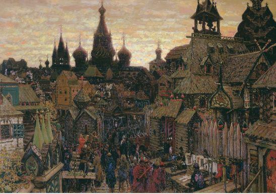 как выглядела москва в начале 17 века