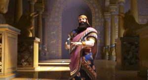 царь Ашшурбанипал