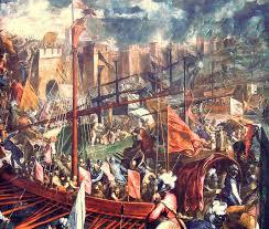 как византийская империя на время распалась и исчезла