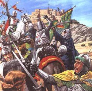 битва мамлюков с крестоносцами
